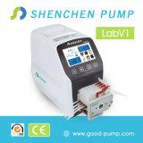 Labv1 LCDの表示の情報処理機能をもった流れの蠕動性の投薬ポンプ