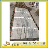Hoher PolierVemont grauer Marmor für Badezimmer-Hintergrund-Entwurfs-u. Fußboden-Fliesen