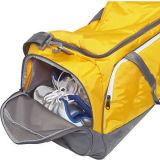2017trendは袋ポリエステル靴のポケットYf-Pb2805が付いている移動のダッフルバッグを防水する