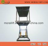 Scissor Typen vertikalen Auto-Aufzug mit Dach