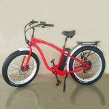 26inch bici eléctrica gorda de la playa E de la bici 500W
