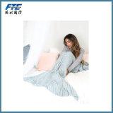 Нежность самого лучшего одеяла кабеля Mermaid сбывания супер