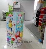 6側面のCmykの昇進のToysrusのおもちゃの球、創造的でおよび丈夫なペーパーDumpbinの表示のためのオフセットによって印刷されるボール紙のDumpbinの表示!