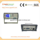 Testeur de résistance interne de la batterie avec plage de mesure 1micro Ohm-3k Ohm (AT526)