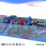 Cour de jeu d'intérieur de matériel en plastique de Childrent du monde de mer pour le mail