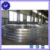 O aço inoxidável aquecido forjou o anel de rolamento do grande diâmetro que forja anéis rolados sem emenda