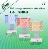 Оборудование красотки обработки угорь 3 цветов СИД для домашней пользы