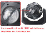 indicatore luminoso capo mobile di gioco del calcio del fascio di 12LEDs 15W RGBW 4in1 LED