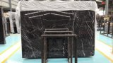 Черный сляб Marquina мраморный, плитка Nero Marquina