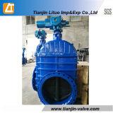 Válvula de porta resiliente da válvula de porta de DIN3352 F4/ferro de Duvtile