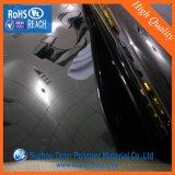 Strato rigido lucido nero del PVC dell'Anti-Autoadesivo per l'involucro del timpano