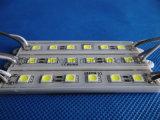 Blanc imperméable à l'eau du module DC12V de SMD 5050 6LED DEL