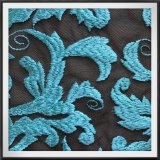 気高い網の刺繍のレースのテュルの刺繍のレースの葉の刺繍のレース