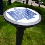 LEDのセリウムの証明書が付いている太陽動力を与えられた庭ライト