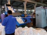 Energien-Einsparung-einzelne Schraubenzieher-Maschine und Plastikaufbereitengranulierer