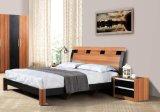 シンプルな設計の熱い販売の純木の寝室の家具