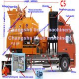 Caminhão diesel bomba montada do misturador C5 concreto