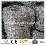 Materiais de construção Galvanização de arame farpado Peso