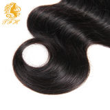 Chiusura 100% del merletto dell'onda 4*4 del corpo dei capelli di Huaman del Virgin