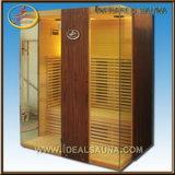 Sauna infrarroja portable, sauna de madera, sitio de interior de la sauna (IDS-2N1)
