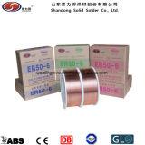 Fil de soudure de MIG d'Er70s-6 Sg2 Er50-6