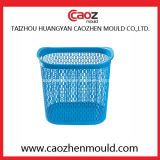 Moulage en plastique de panier de blanchisserie de bonne qualité en Chine