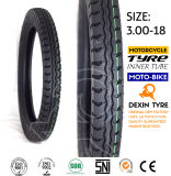 モーターバイクのオートバイのタイヤのスクーターのタイヤ二重線の3.00-18