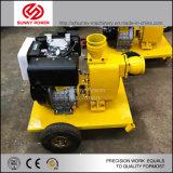 De zelf Pomp van het Water van de Instructie Centrifugaaldie door Dieselmotor wordt gedreven