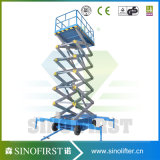 Nenneingabe bewegliches Eleciftic des China-Hersteller-300kg Scissor Aufzug, elektrisches Laden-Plattform, elektrischer Aufzug
