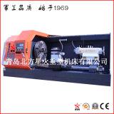 Tornio pieno di CNC dello schermo del metallo di alta qualità poco costosa di prezzi per la flangia di giro (CK61200)