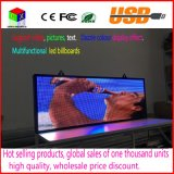 LED SMD3528 di colore completo Segno USB Flash Disk Programmable Scrolling LED Message Board Aprire il tabellone