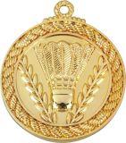 模造金張りのVollyballのゲームメダル