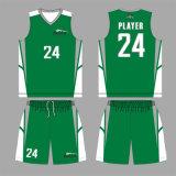 Sec-Ajuster les uniformes de basket-ball avec le logo fait sur commande pour votre camp