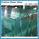 vetro libero della balaustra di vetro Tempered di 12-19mm