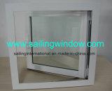 Guichet en aluminium - guichet de tente de tissu pour rideaux