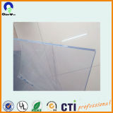 Pvc Rigid Transparent Sheet van RoHS 4X8 3mm met Both Masking
