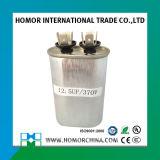 Овальный тип и круглый тип конденсатор случая идущего кондиционера мотора AC Cbb65 450V алюминиевый