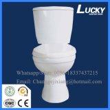 Туалет UK высокого качества двухкусочный с сертификатом Ce
