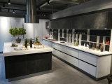 新しいHandless食器棚の普及した光沢度の高い食器棚