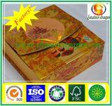 Gris lámina de oro fábrica de pasteles de cartón en China