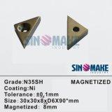 Ímã permanente da certificação Magnet/NdFeB de Magnet/GS RoHS/ímã magnético do separador