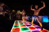 Liquide liquide DEL Dance Floor de modèle d'usager de mariage de barre de boîte de nuit de la disco légère de Satge la plus neuve