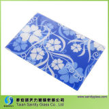 4mm 5mm Trolled Chinchilla Patterned Glass Tappe
