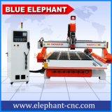 1530 lineares ATC, Fräser 1530 4 Mittellinie, hölzerne Gravierfräsmaschine CNC-3D CNC-1530 für hölzernen Tür-Schrank-Stuhl