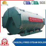 Gas horizontal industrial 6t/H-1.25MPa y caldera de vapor de fuel
