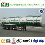 3axles Steel Utility Fuel Tank Semi Trailer