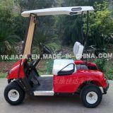 ¡Venta caliente! Red Golf Cart Jdgf-E501 (48V 2.2KW) (JDGF-E501) Eléctrico / Gasolina