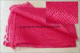 Rote Zwiebelen-Knoblauch-Polypropylen-Linon-Ineinander greifen-Nettobeutel
