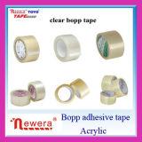 La sola cara adhesiva echada a un lado y el derretimiento caliente, piezosensibles, agua activaron el tipo adhesivo cinta de alta resistencia del embalaje