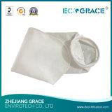 Saco de filtro líquido de pano resistente à corrosão dos PP